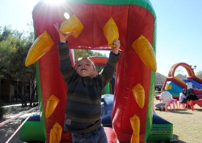 Jumping Castles for Hire To hire a jumping castle look no further than Gauteng-based Gladiator Inflatables. The company is an established manufacturer of all things inflatable with nationwide freighting services.