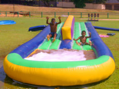 14. Double Water Slide
