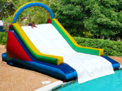 18. Gladiator Pool Slide