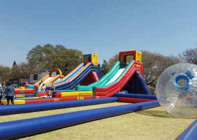 Gladiator Inflatables is centrally situated to make it the best jumping castle hire outlet in Roodepoort. With premises in Golf Club Terrace, Discovery, Gladiator has been renting out and selling inflatables for two decades.
