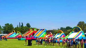 Purchasing a water slide is an investment that needs thorough research. Gladiator Inflatables is always on hand to advise customers on the right product to meet their needs.