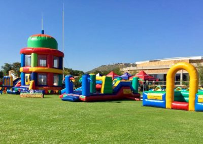 Gladiator has established itself as a major inflatables for hire outlet in the area