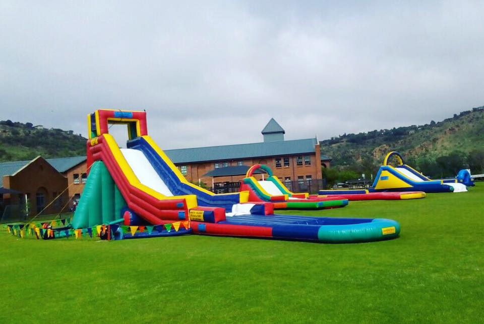 Water Slides for Hire Apart from its solid reputation as a manufacturer of inflatables, Gladiator is also nationally recognised as a leading inflatable hire company.