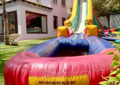 Water slides are gaining popularity with all age groups because they offer a fun and entertaining way in which to spend time in the sunshine. Unlike their steel counterparts, inflatable water slides are a much safer option, particularly for the younger generation.