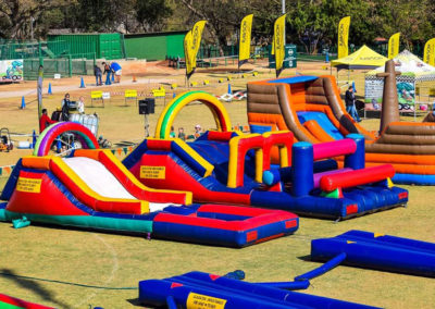 Gladiator inflatables fun day fairlands