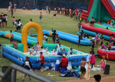Gladiator inflatables jumping castles funday