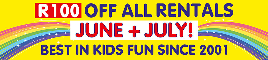 June-July Special Gladiator Inflatables