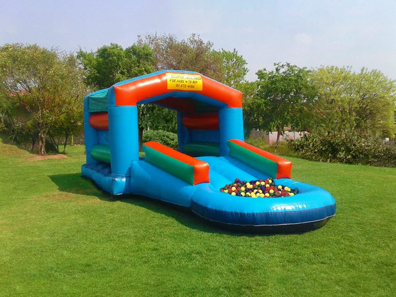 Jumping for Joy over Jumping Castle Benefits!