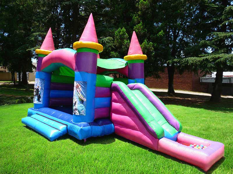 gladiator-inflatables-frozen-jumping-castle-with-slide-and-balls