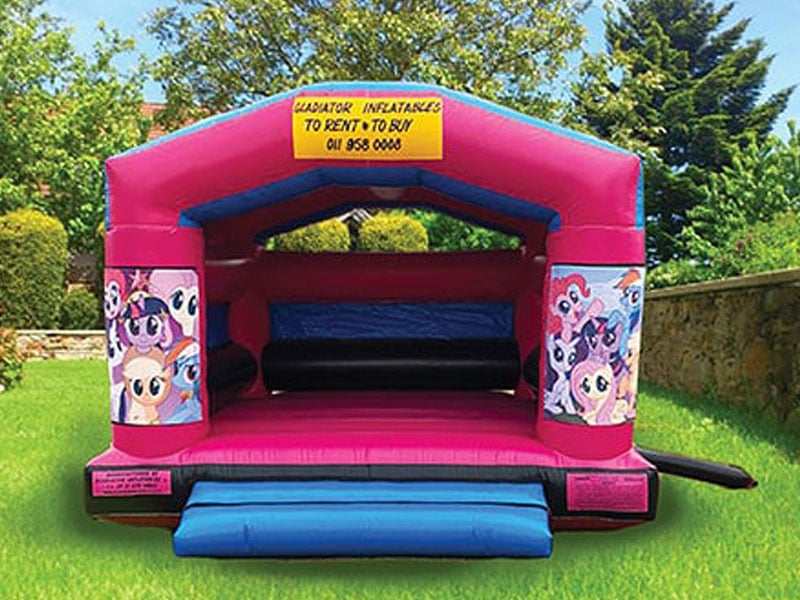 gladiator inflatables girls themed jumping castle