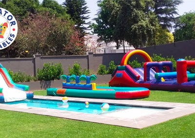 Hire for home gladiator inflatables 0116724861